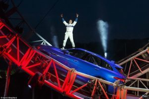 Natalie Cooper voice of god for Jaguar F-pace