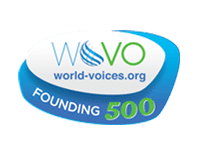voiceover Natalie Cooper is a founding member of World Voices organisation