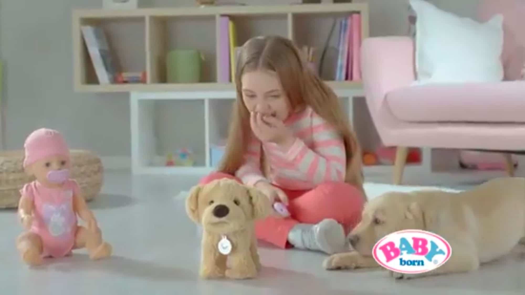 tv commercial voiceover by Natalie Cooper for Zapf Creation kids toys